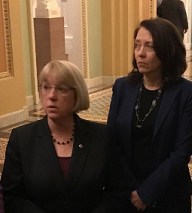 Patty Murray and Maria Cantwell