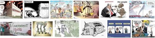 government is too big political cartoons