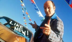 smarmy car salesman